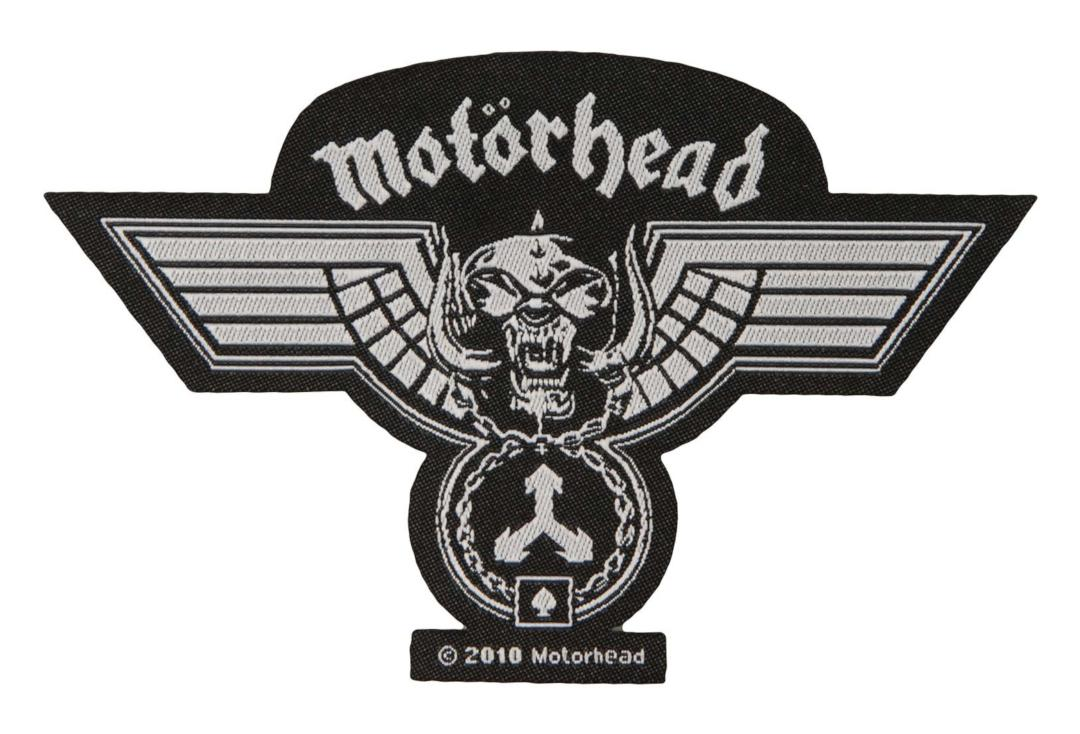 Official Band Merch | Motorhead - Hammered Cut Out Woven Patch