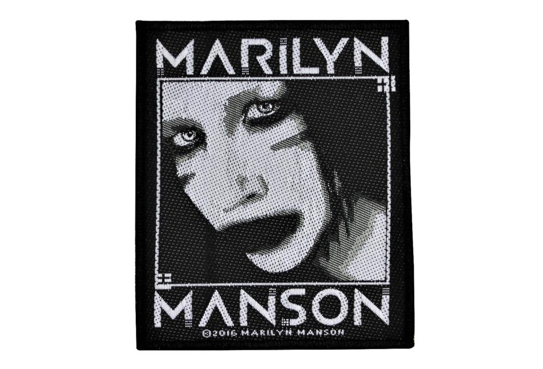 Official Band Merch | Marilyn Manson - Villain Woven Patch