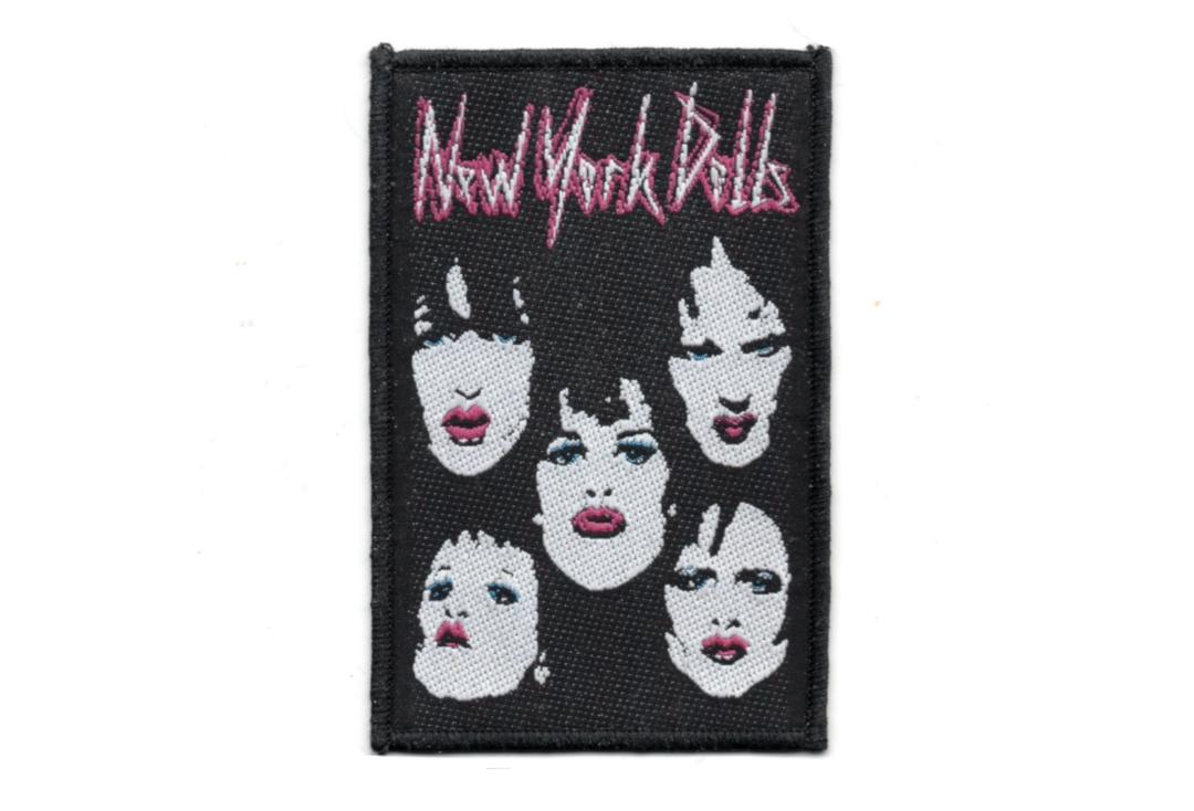 Official Band Merch | New York Dolls - Faces Woven Patch