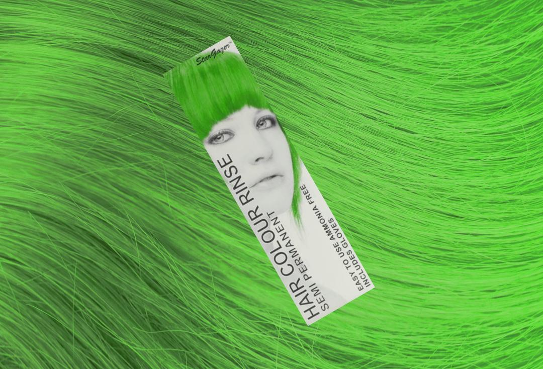 Stargazer | African Green Semi-Permanent Hair Colour