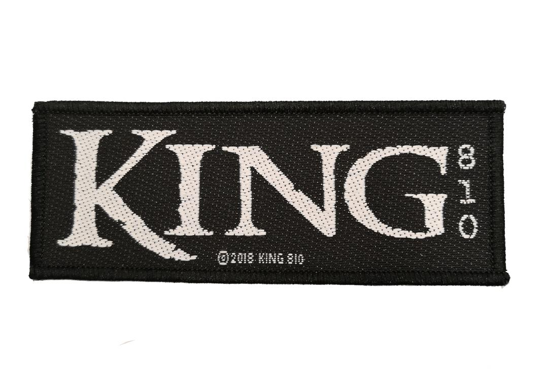Official Band Merch | King 810 - Logo Woven Patch