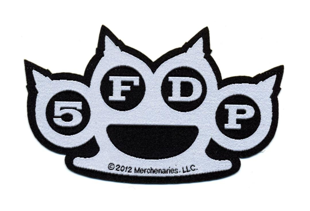 Official Band Merch | Five Finger Death Punch - Death Punch Knuckle Woven Patch