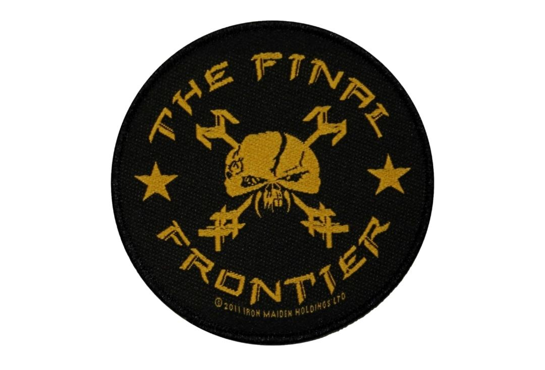 Official Band Merch | Iron Maiden - The Final Frontier Round Woven Patch