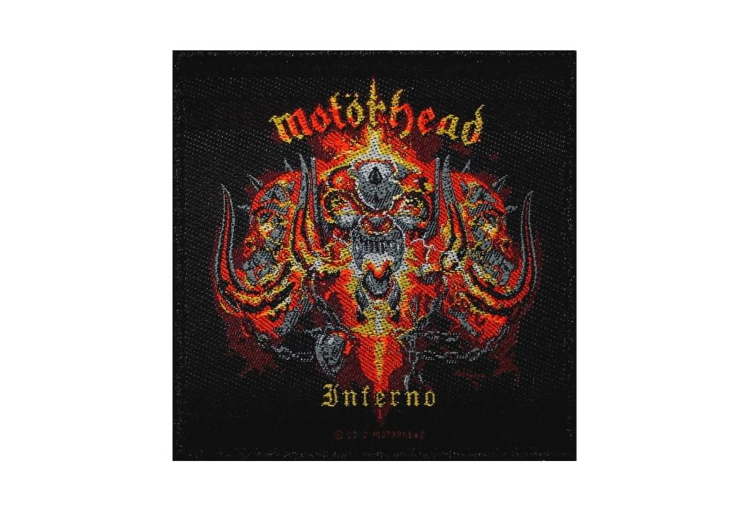 Official Band Merch | Motorhead - Inferno Woven Patch