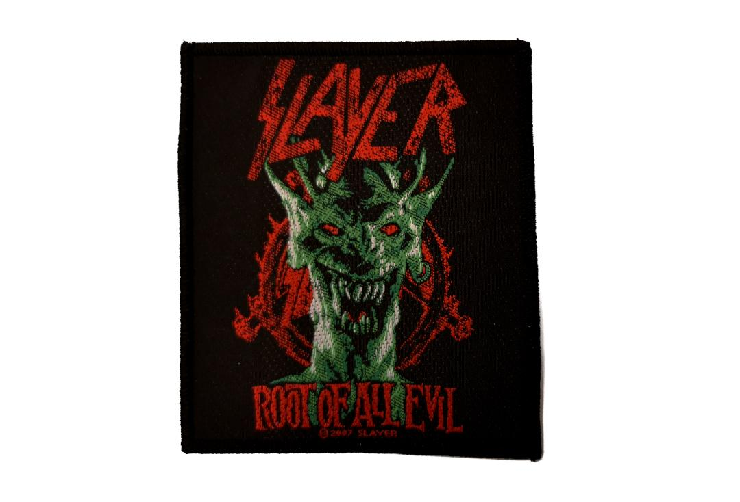 Official Band Merch | Slayer - Root Of All Evil Woven Patch