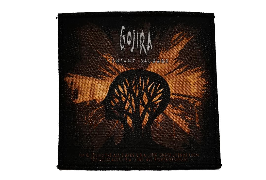 Official Band Merch | Gojira - L'Enfant Sauvage Woven Patch