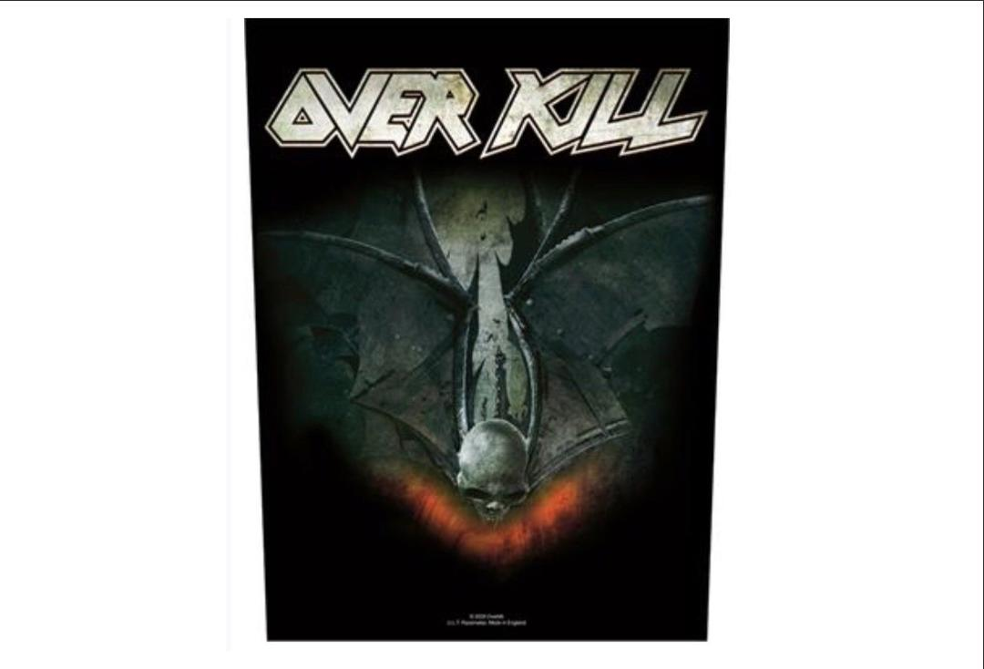 Official Band Merch | OverKill - Those Who Bleed Printed Back Patch