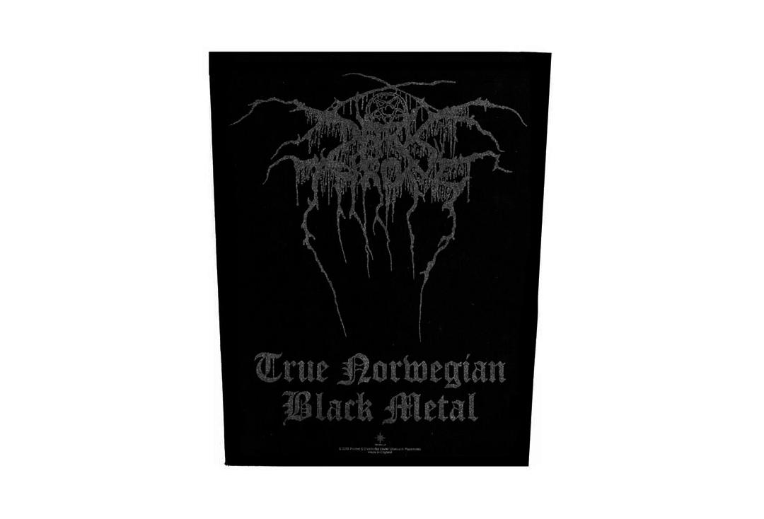Official Band Merch | Darkthrone - True Norwegian Black Metal Printed Back Patch