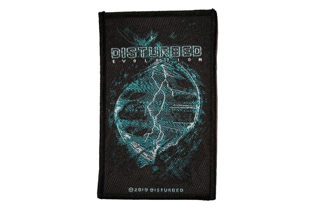 Official Band Merch | Disturbed - Evolution Woven Patch