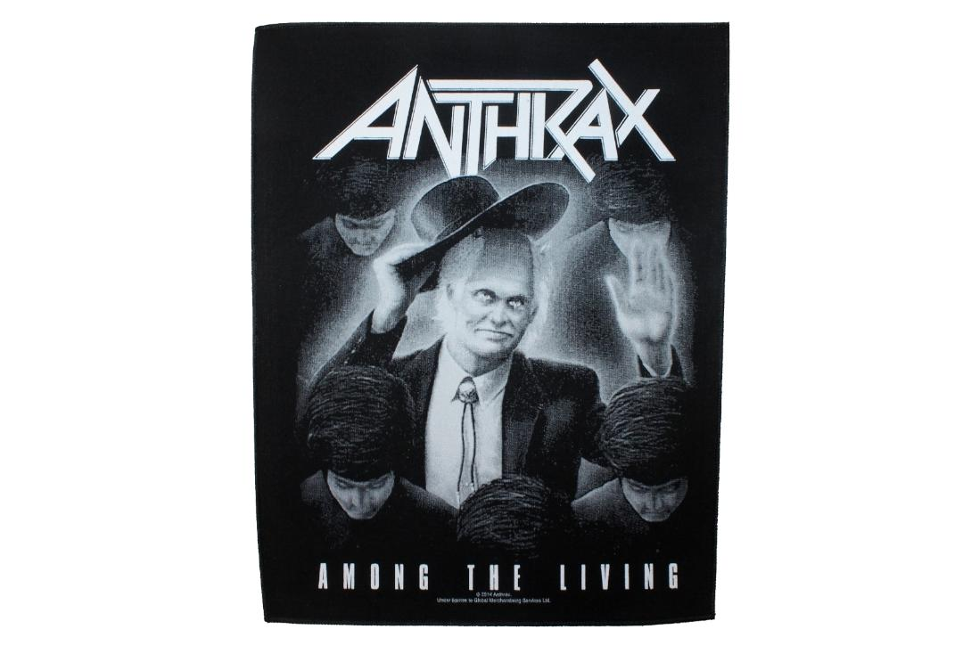 Official Band Merch | Anthrax - Among The Living - With Slight Flaw