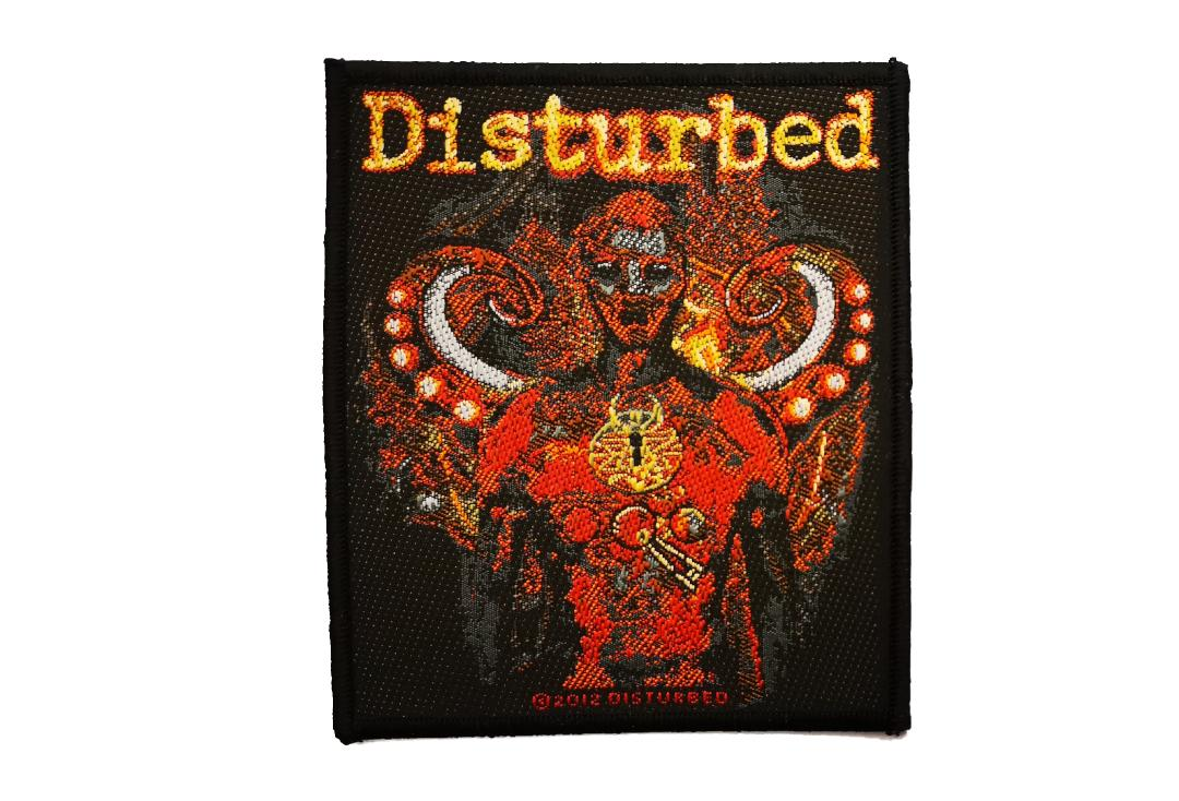 Official Band Merch | Disturbed - Guarded Woven Patch