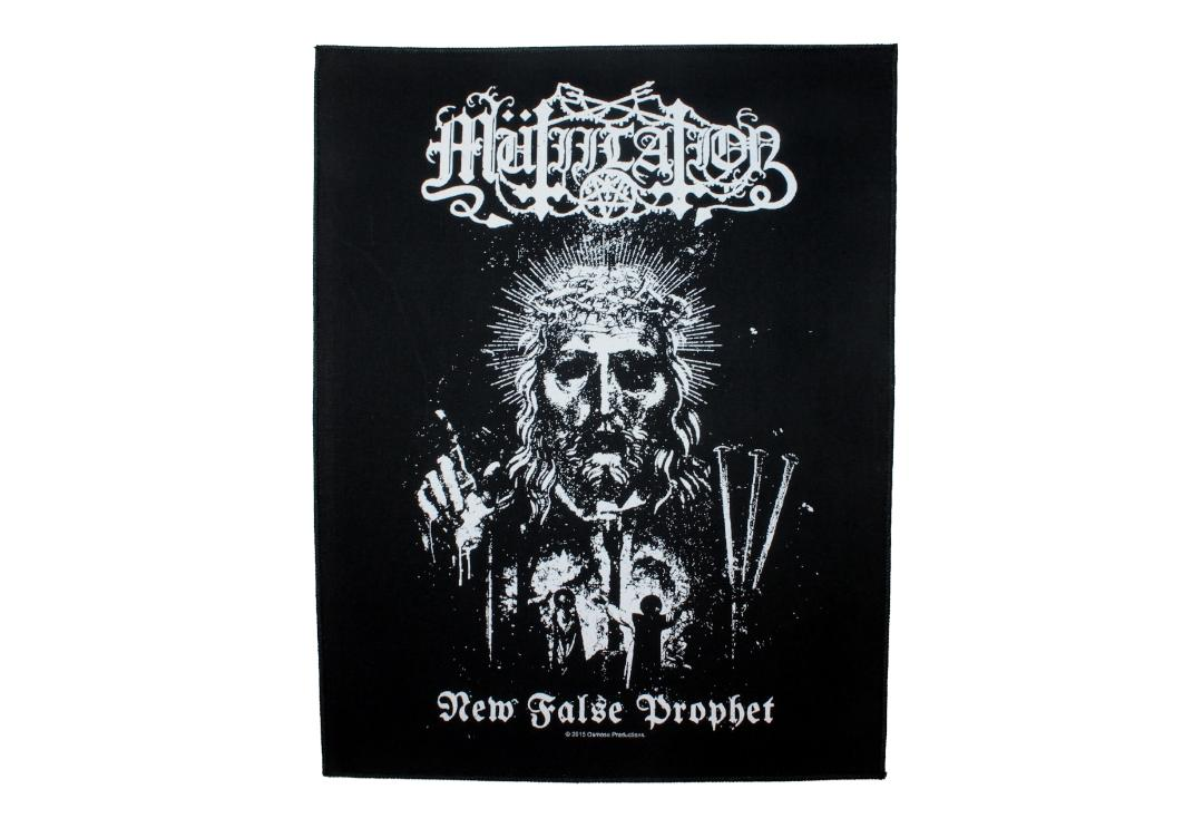 Official Band Merch | Mutilation - New False Prophet Printed Back Patch
