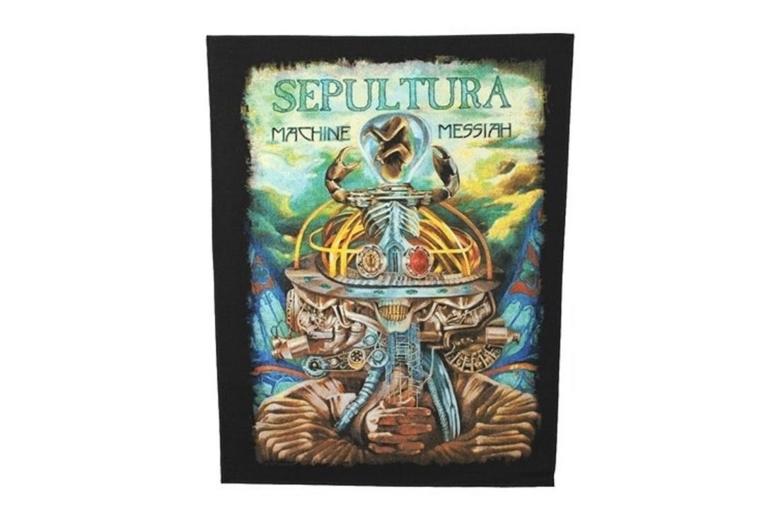 Sepultura | Sepultura - Machine Messiah Printed Back Patch