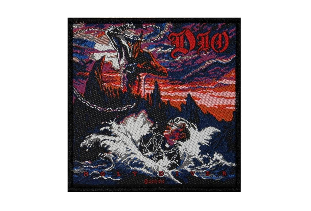 Official Band Merch | Dio - Holy Diver Woven Patch