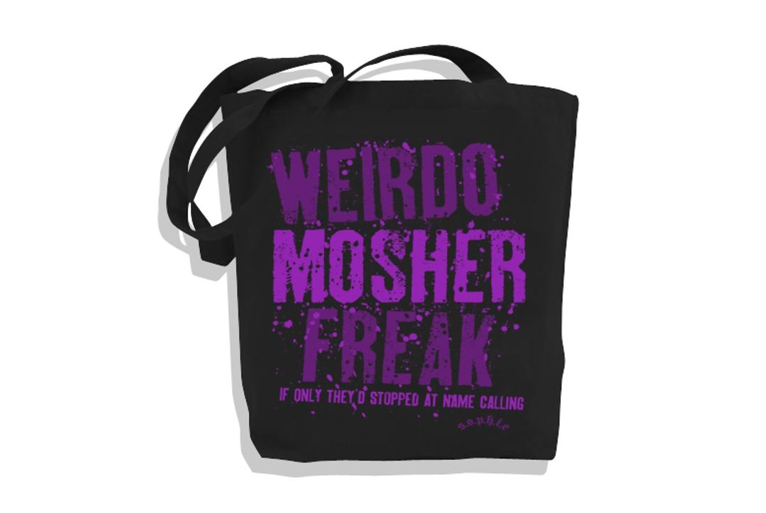 Sophie Lancaster Foundation | Purple Weirdo Mosher Freak Tote Bag