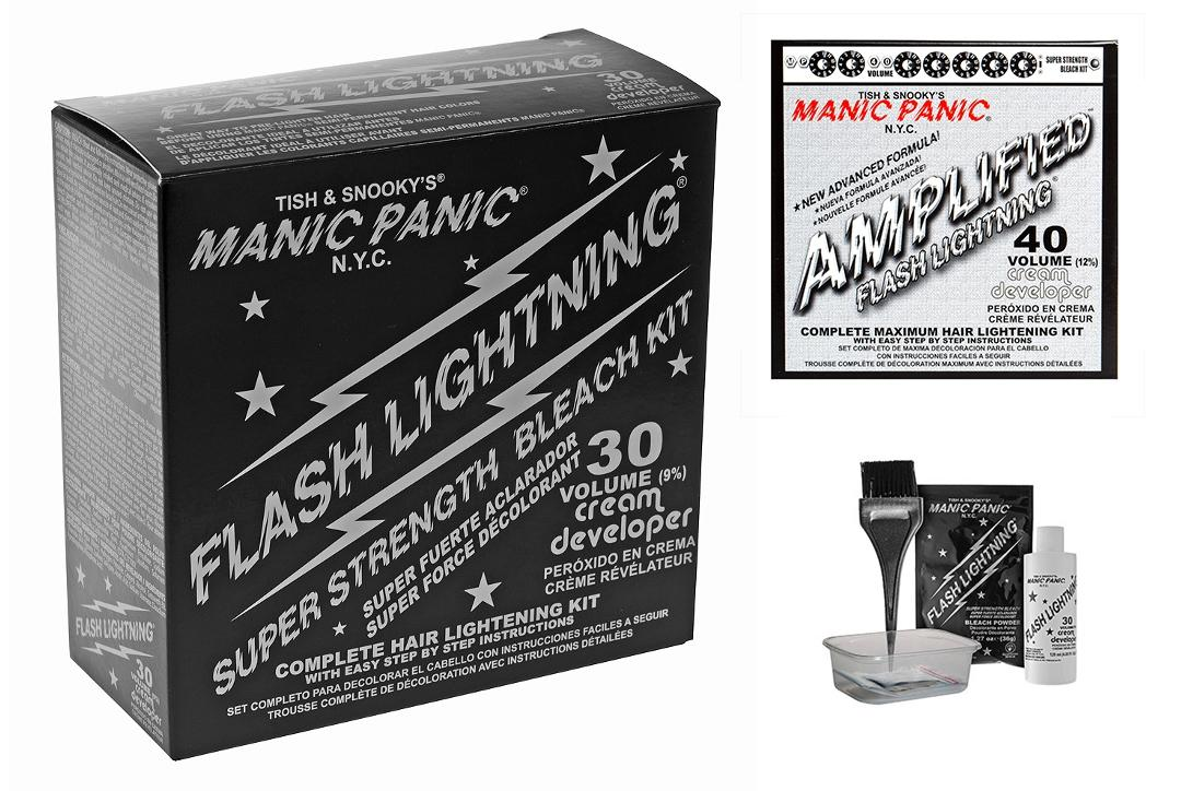 Manic Panic | Flash Lightening Super Strength Bleach Kit