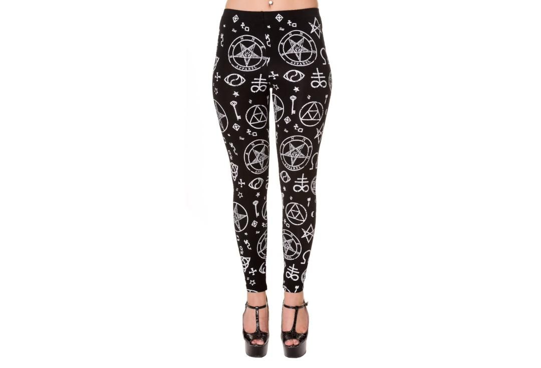 Banned Apparel | Mystic Pentagram Leggings - Front