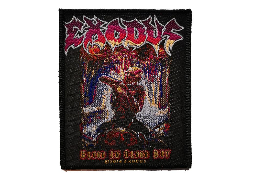 Official Band Merch | Exodus - Blood In Blood Out Woven Patch