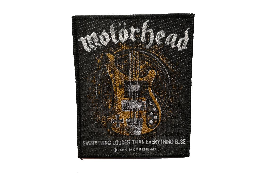Official Band Merch | Motorhead - Lemmy's Bass Woven Patch