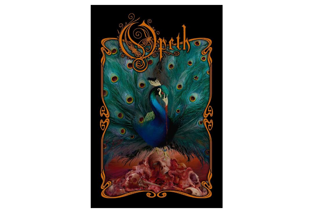 Official Band Merch | Opeth - Sorceress Printed Textile Poster