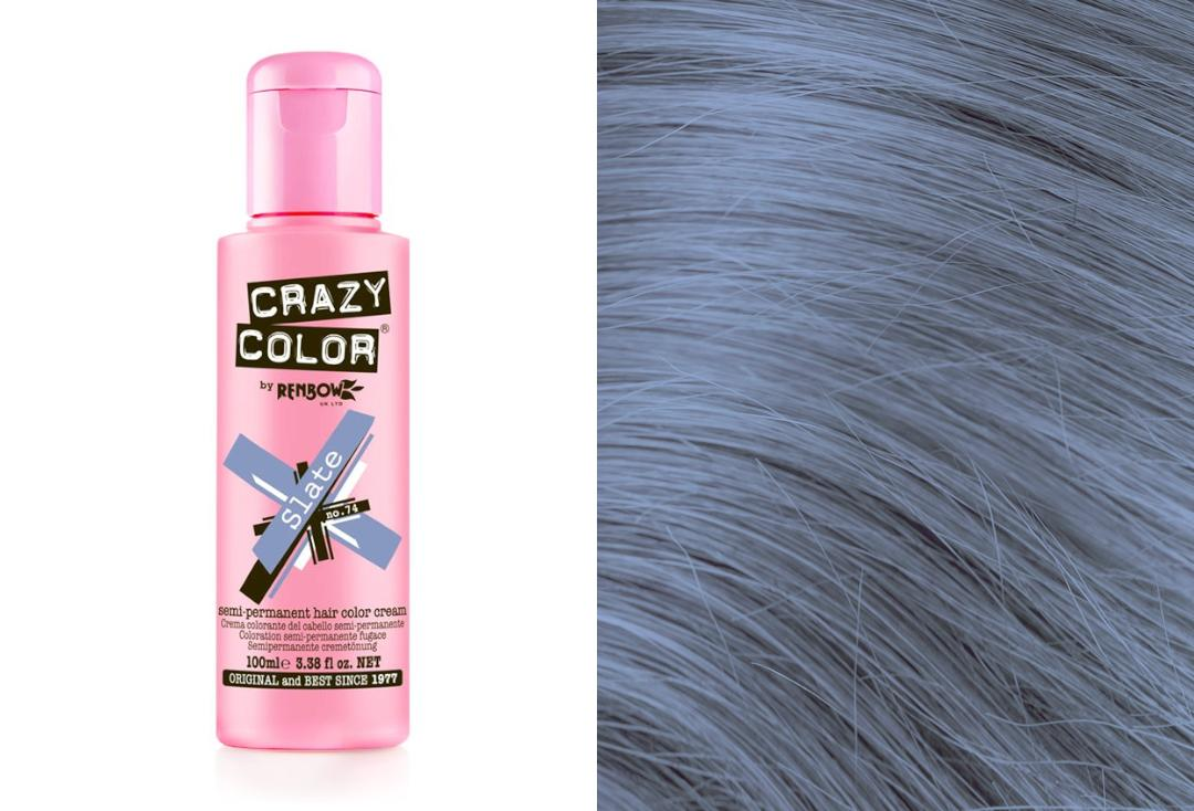 Renbow | Crazy Color Semi-Permanent Hair Colour (074 Slate)