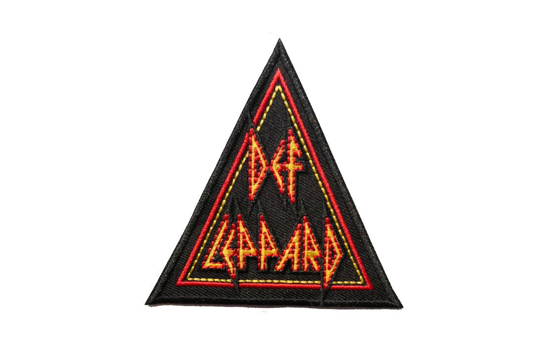 Official Band Merch | Def Leppard - Tri Logo Woven Patch