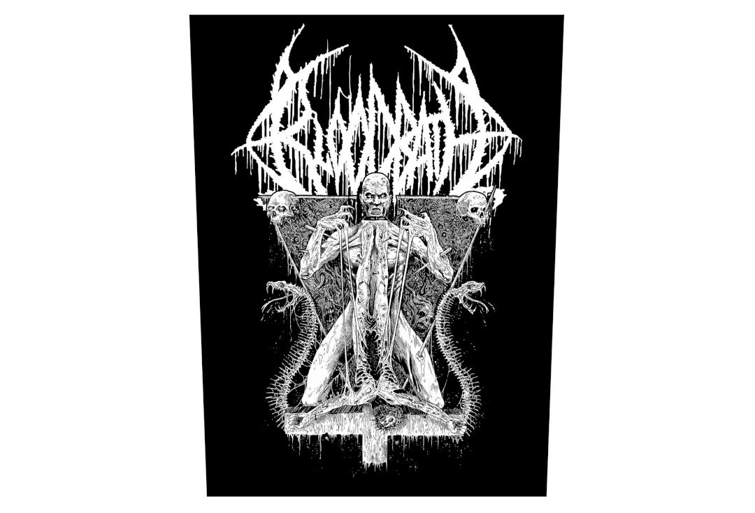 Official Band Merch | Bloodbath - Morbid Antichrist Printed Back Patch