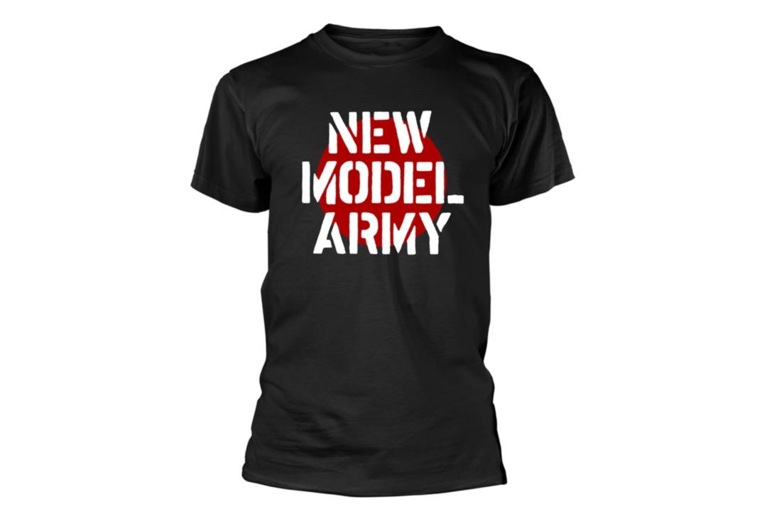 Official Band Merch | New Model Army - Logo Men's Short Sleeve T-Shirt