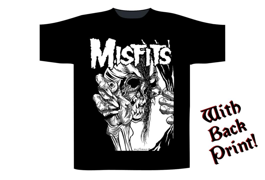 Official Band Merch | Misfits - Can I Go Out And Kill Tonight Men's Short Sleeve T-Shirt - Front