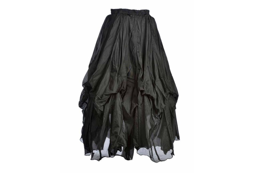 Darkstar By Jordash | Black Ruched Gothic Skirt