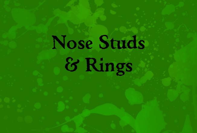 Nose Studs & Rings