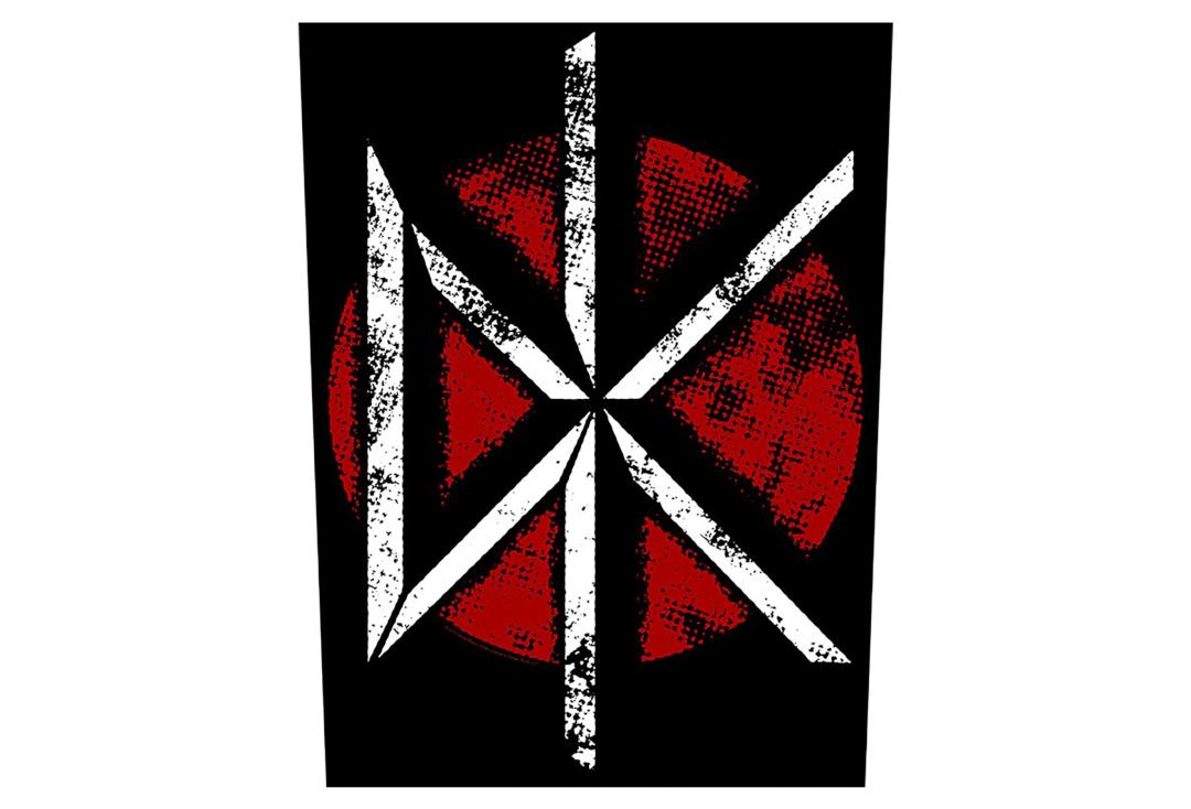 Official Band Merch | Dead Kennedys - Vintage Logo Printed Back Patch