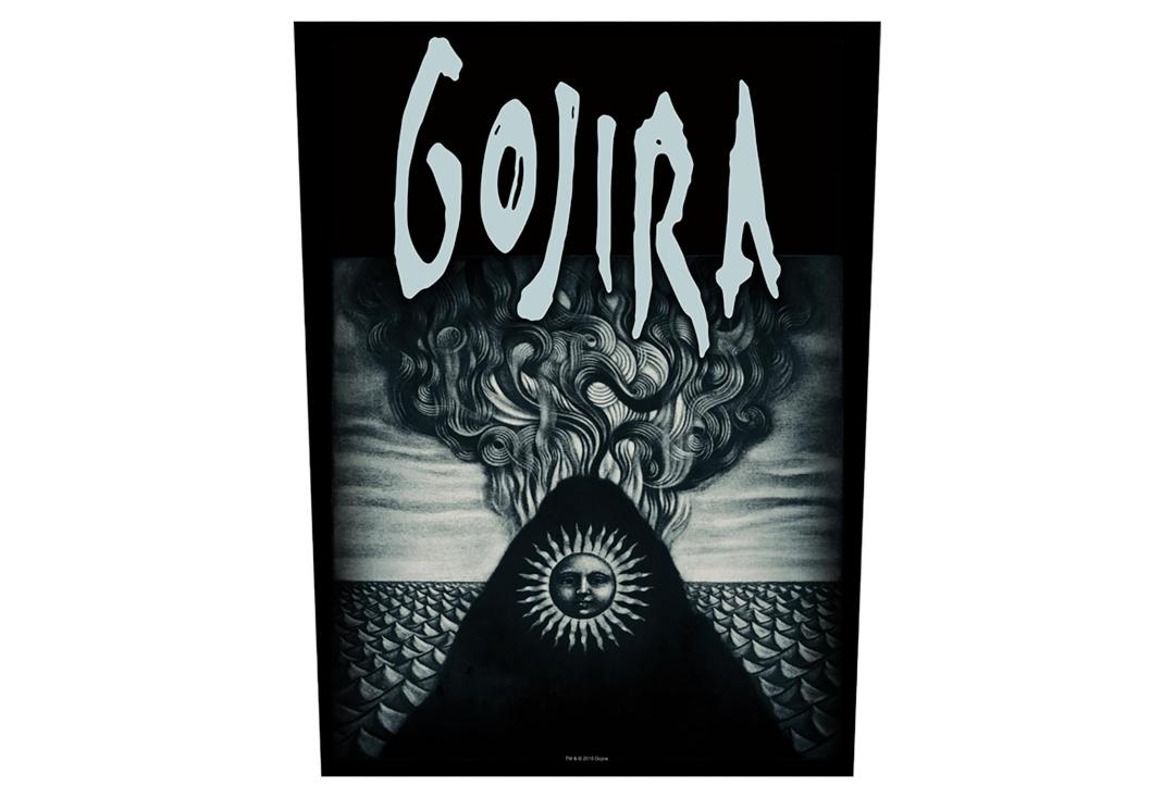 Official Band Merch | Gojira - Magma Printed Back Patch