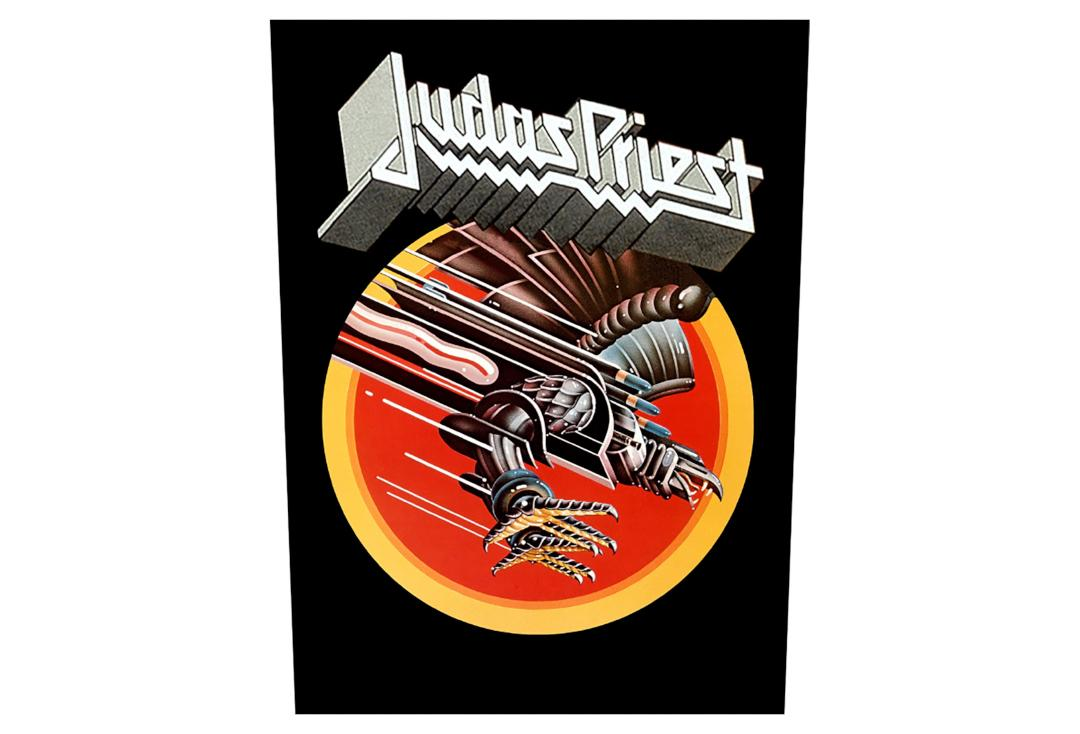 Official Band Merch | Judas Priest - Screaming For Vengeance Printed Back Patch