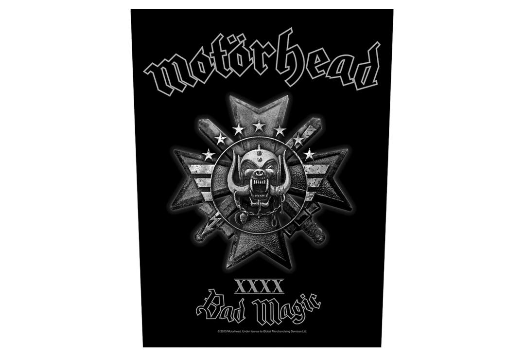 Official Band Merch | Motorhead - Bad Magic Printed Back Patch
