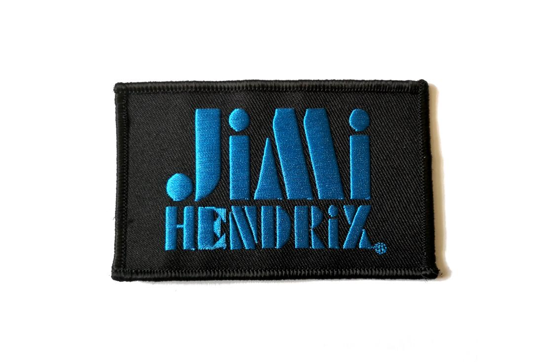Official Band Merch | Jimi Hendrix - Stencil Logo Woven Patch