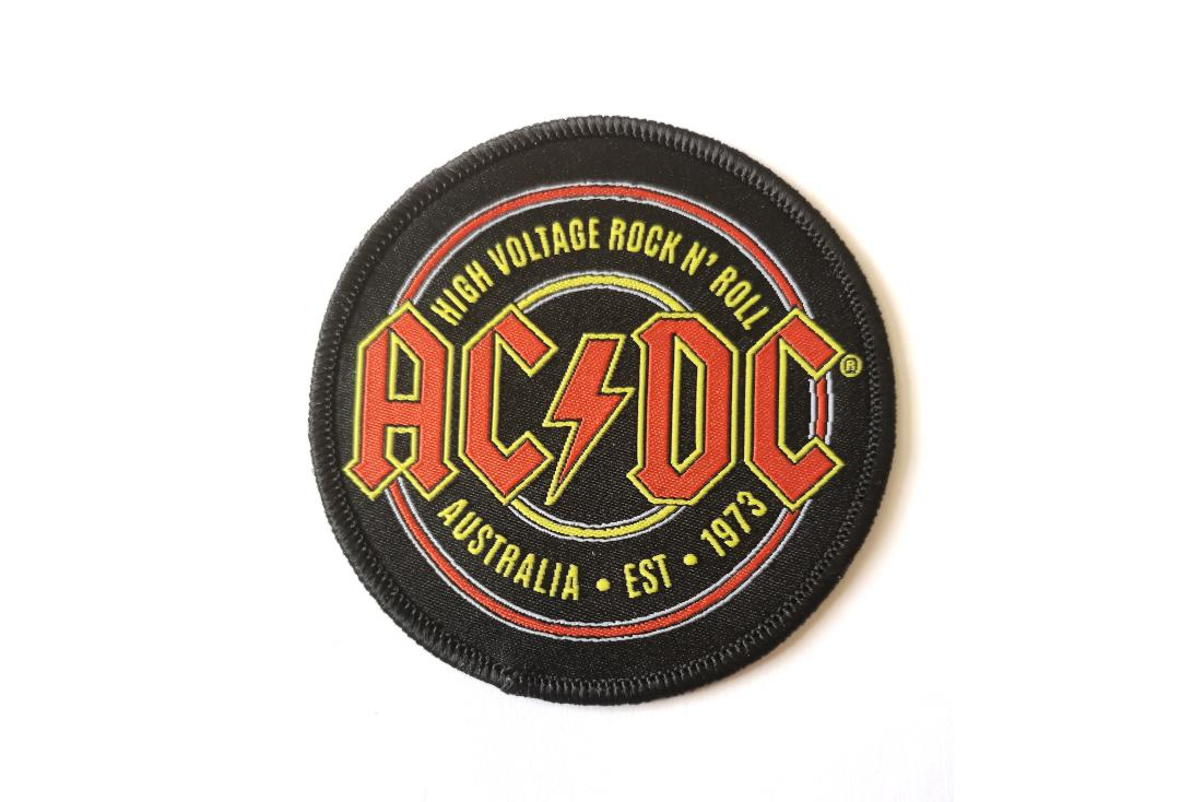 Official Band Merch | AC/DC - Est. 1973 Woven Patch