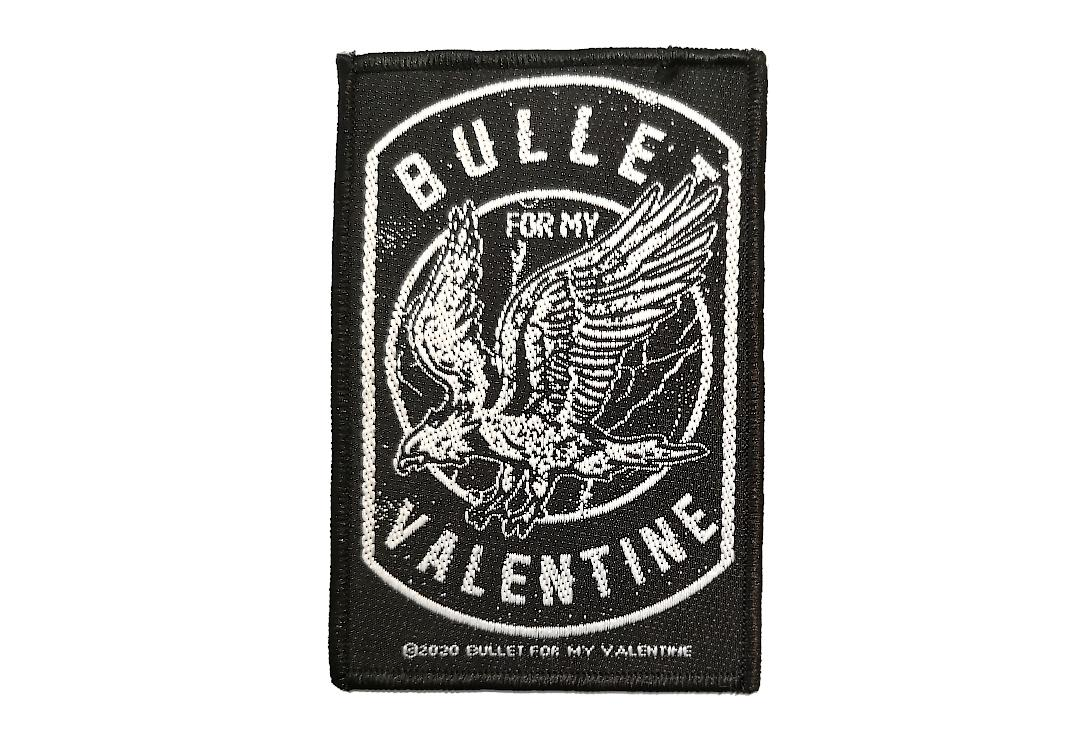 Official Band Merch | Bullet For My Valentine - Eagle Woven Patch