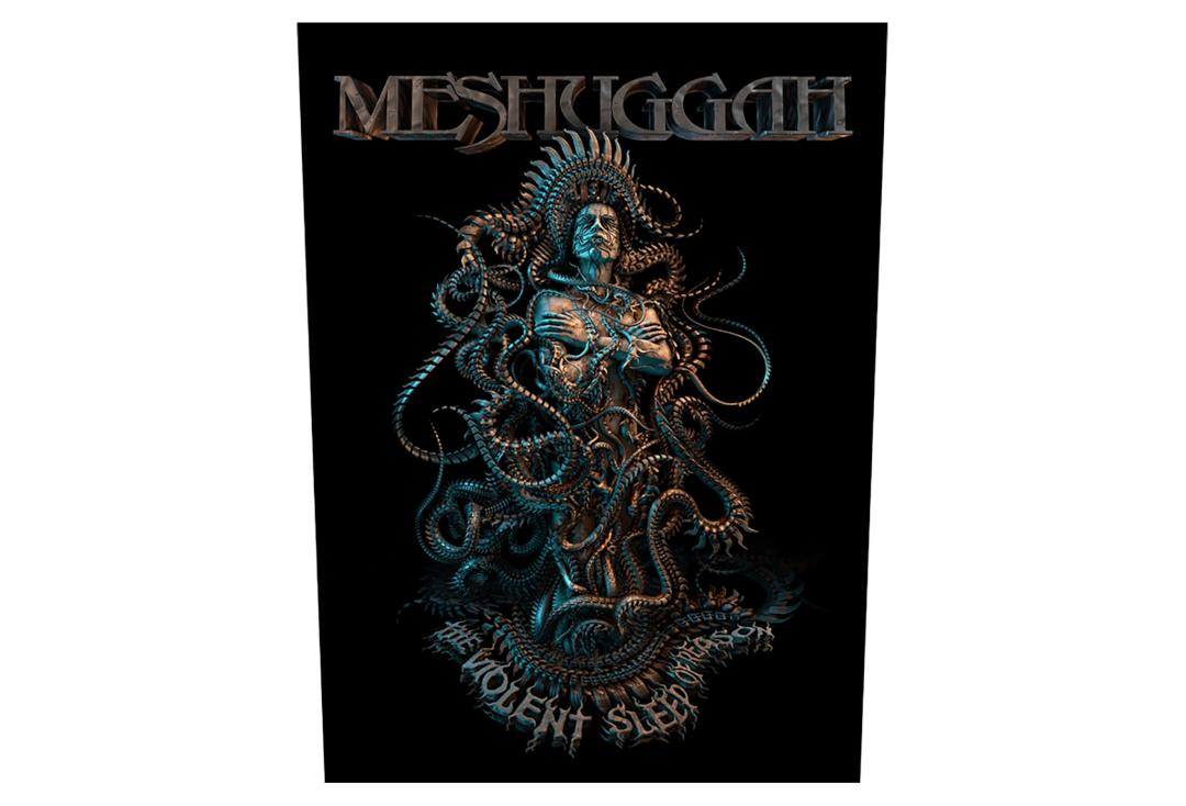 Official Band Merch | Meshuggah - The Violent Sleep Of Reason Printed Back Patch