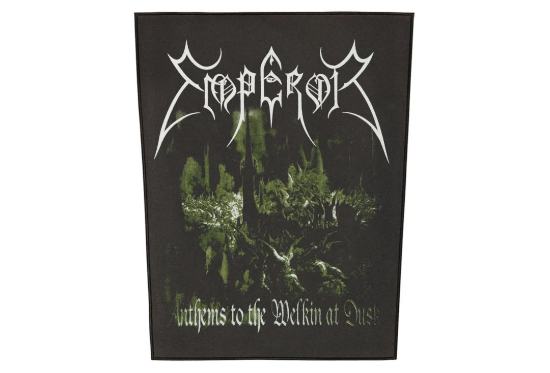 Official Band Merch | Emperor - Anthems Printed Back Patch