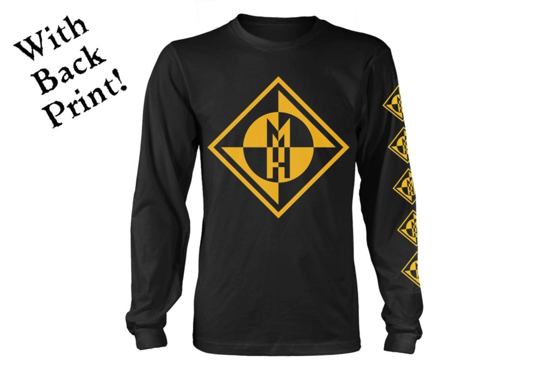 Official Band Merch | Machine Head - Fucking Diamond Men's Official Long Sleeve T-Shirt - Front