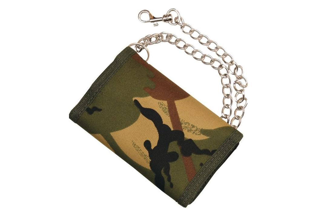 Void Clothing | DPM Camo Tri-Fold Wallet
