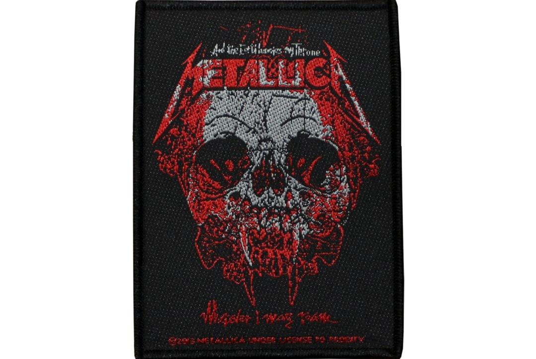 Official Band Merch | Metallica - Wherever I May Roam Woven Patch