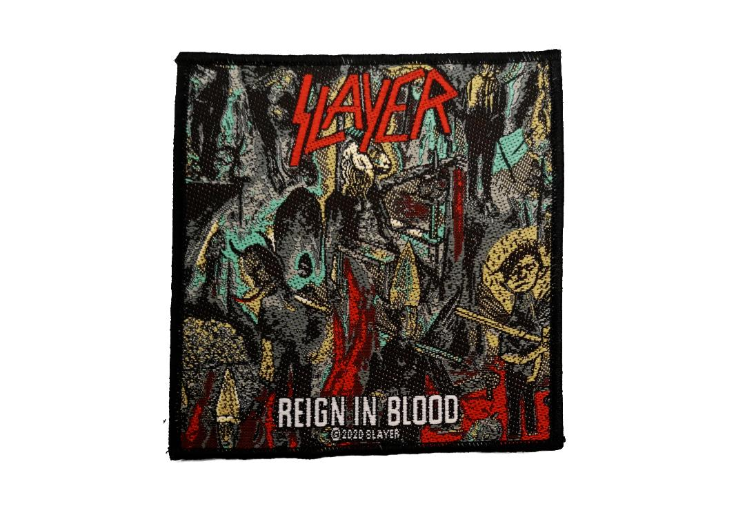 Official Band Merch | Slayer - Reign In Blood Woven Patch