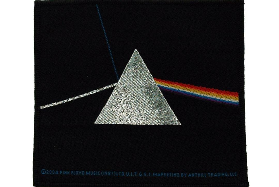 Official Band Merch | Pink Floyd - The Dark Side Of The Moon Woven Patch
