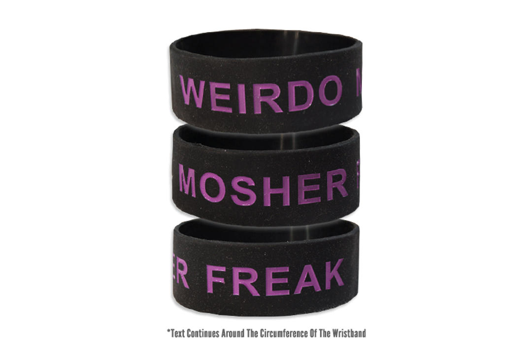 Sophie Lancaster Foundation | Weirdo Mosher Freak Wide Wristband