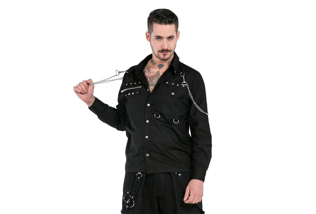 Dead Threads | Zip & Chain 9610 Long Sleeve Shirt