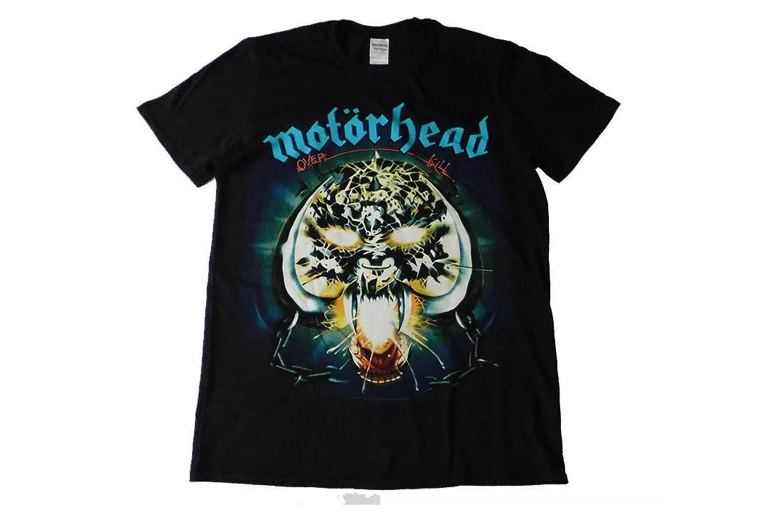 Official Band Merch | Motorhead - Overkill Official Men's Short Sleeve T-Shirt