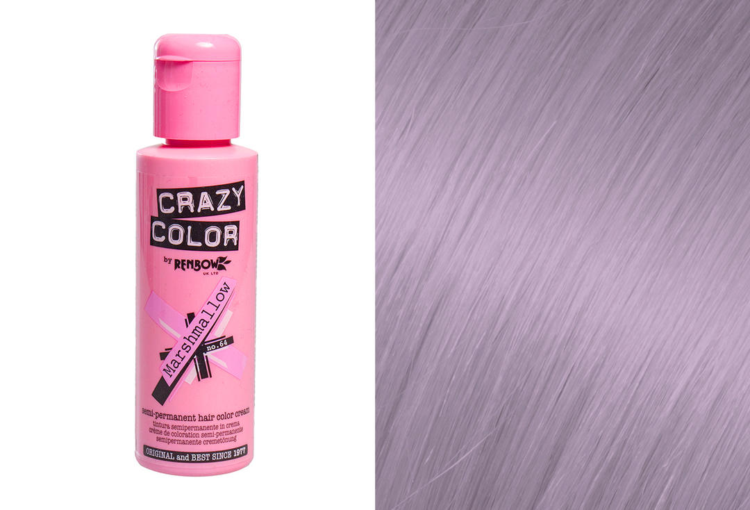 Renbow | Crazy Color Semi-Permanent Hair Colour (064 Marshmallow)