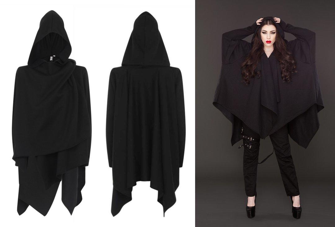 Necessary Evil | Jupiter Poncho (Black)
